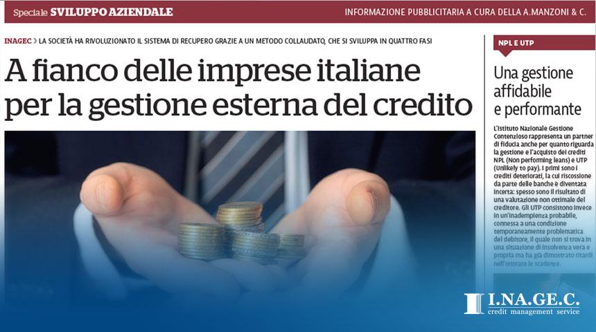 articolo Inagec su La Repubblica